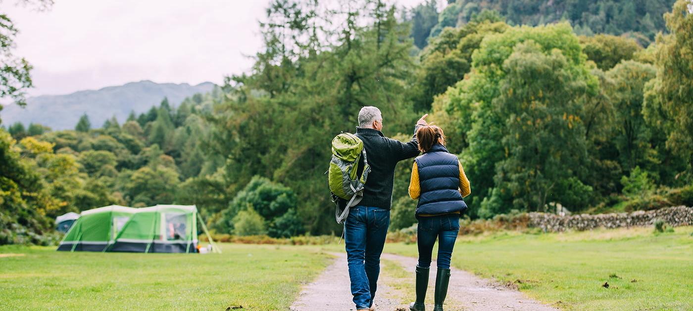 Hoida eteisvärinää lähtemällä kävelylle luontoon